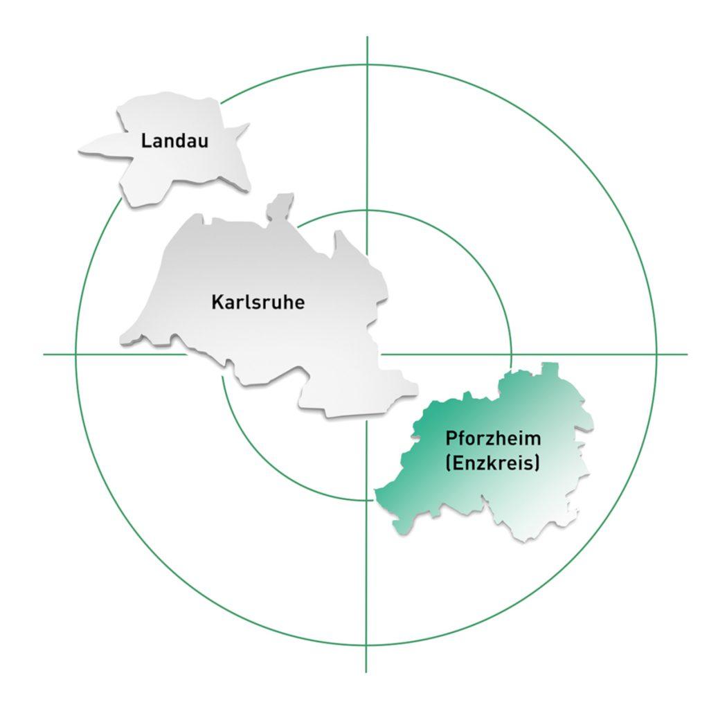 Pforzheim, Stuttgart und Umgebung