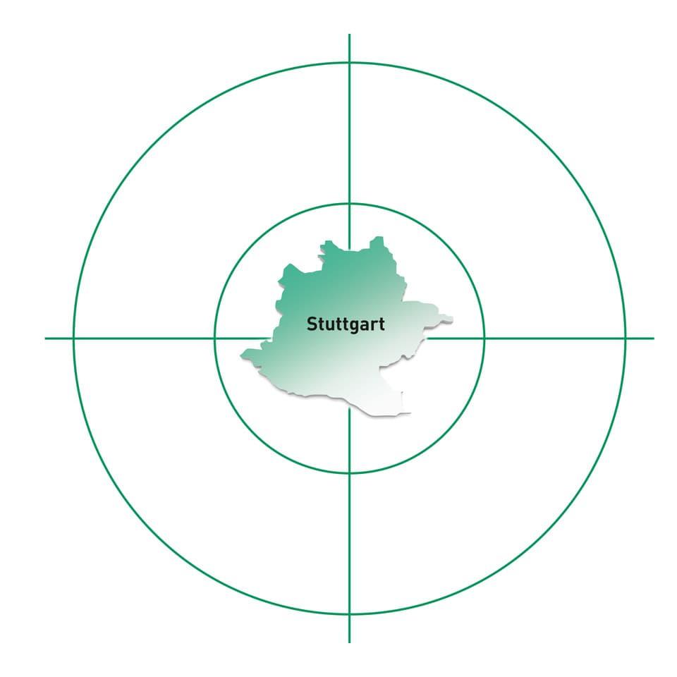 Standort Stuttgart und Umgebung